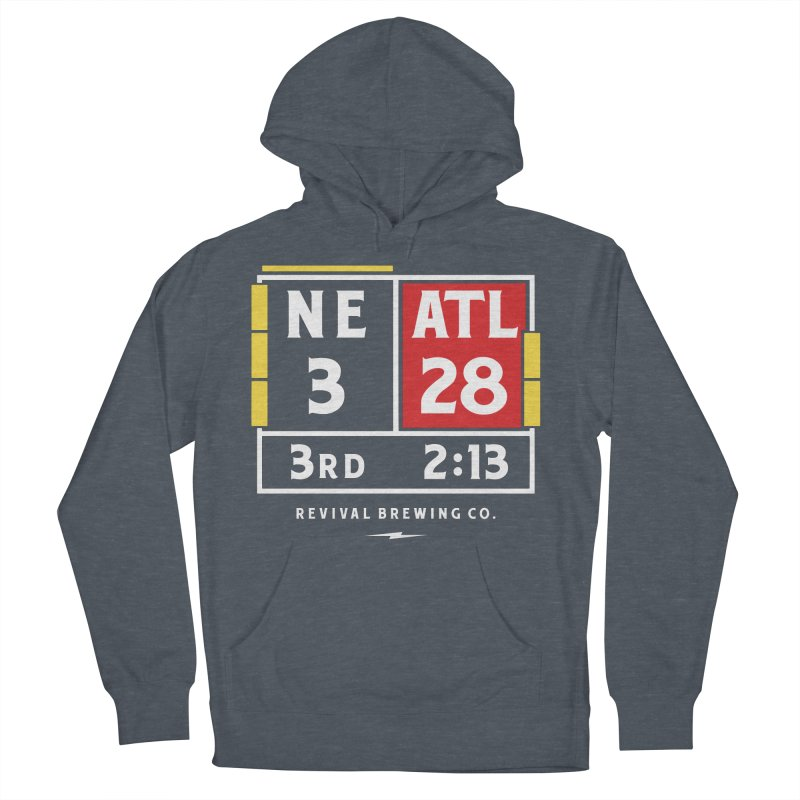 Revival Scoreboard Women's French Terry Pullover Hoody by Revival Brewing