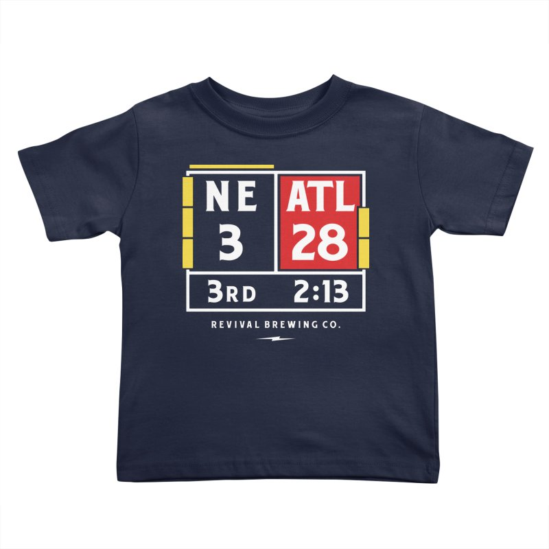 Revival Scoreboard Kids Toddler T-Shirt by Revival Brewing
