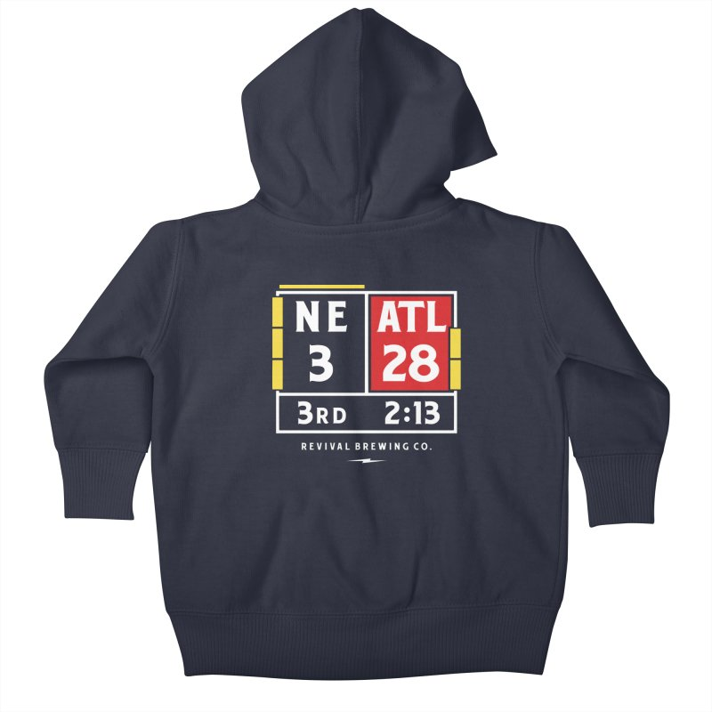 Revival Scoreboard Kids Baby Zip-Up Hoody by Revival Brewing