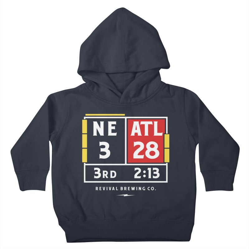 Revival Scoreboard Kids Toddler Pullover Hoody by Revival Brewing
