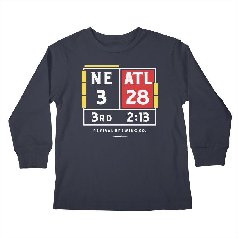 Revival Scoreboard Kids Longsleeve T-Shirt by Revival Brewing