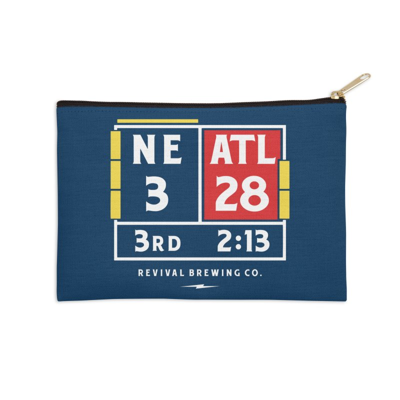 Revival Scoreboard Accessories Zip Pouch by Revival Brewing