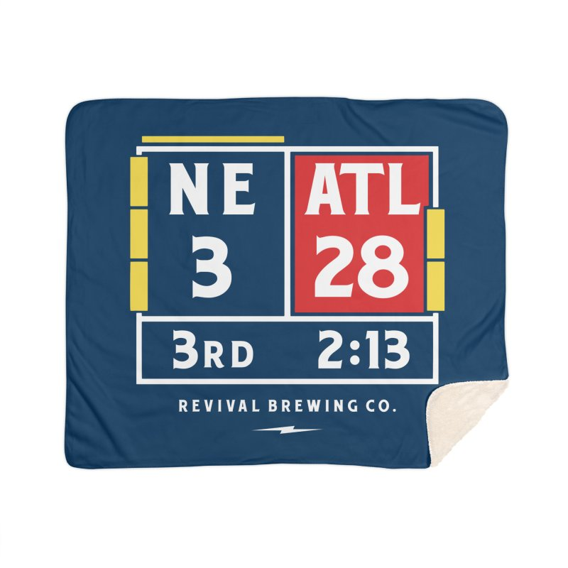 Revival Scoreboard Home Sherpa Blanket Blanket by Revival Brewing