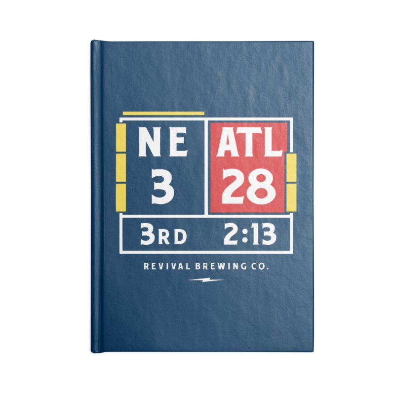 Revival Scoreboard Accessories Lined Journal Notebook by Revival Brewing