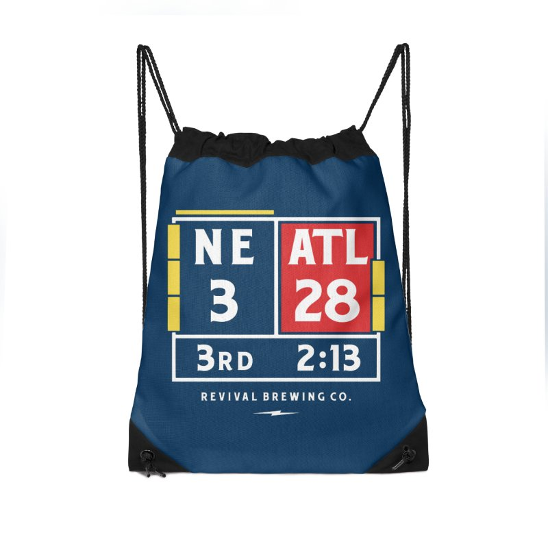 Revival Scoreboard Accessories Drawstring Bag Bag by Revival Brewing