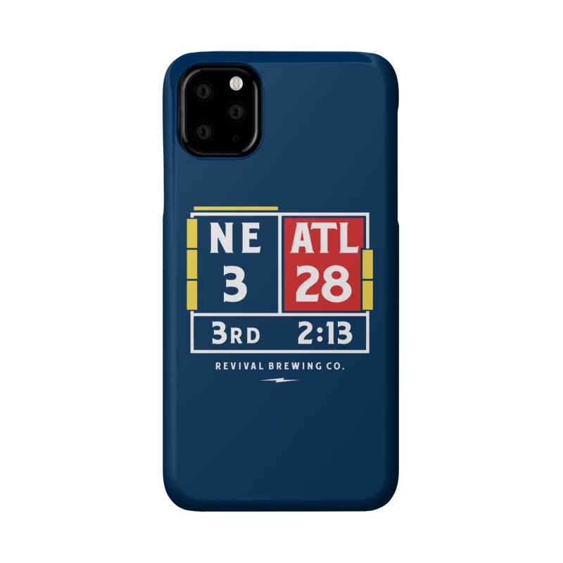 Revival Scoreboard Accessories Phone Case by Revival Brewing