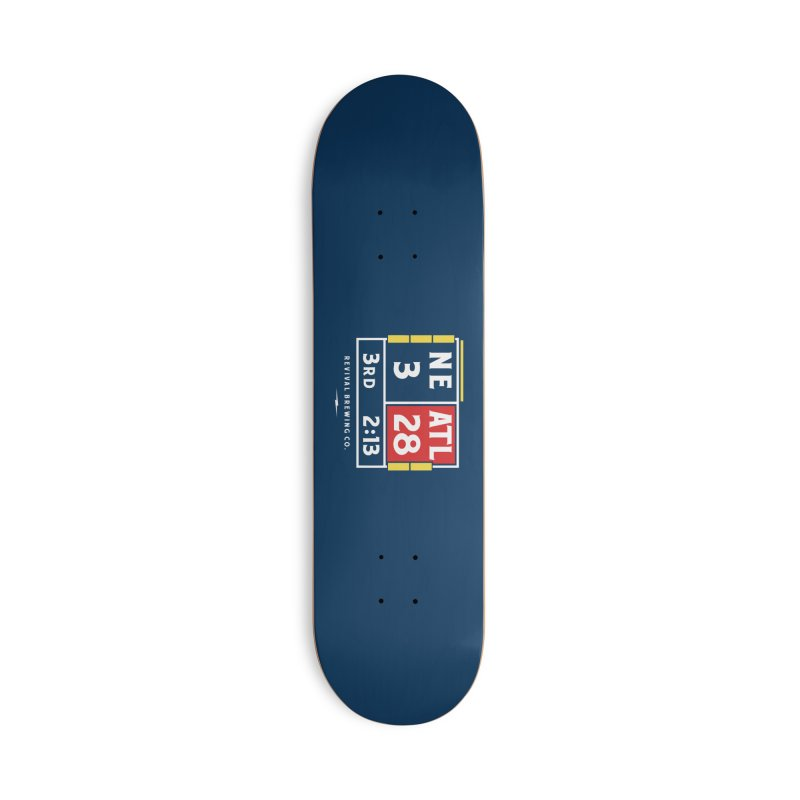 Revival Scoreboard Accessories Deck Only Skateboard by Revival Brewing