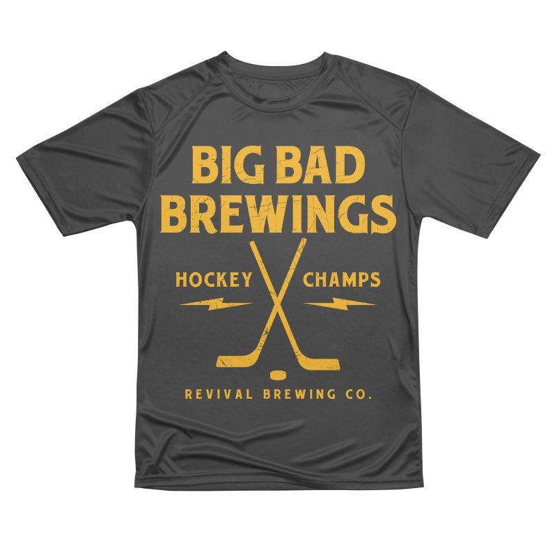 Big Bad Brewings Women's Performance Unisex T-Shirt by Revival Brewing