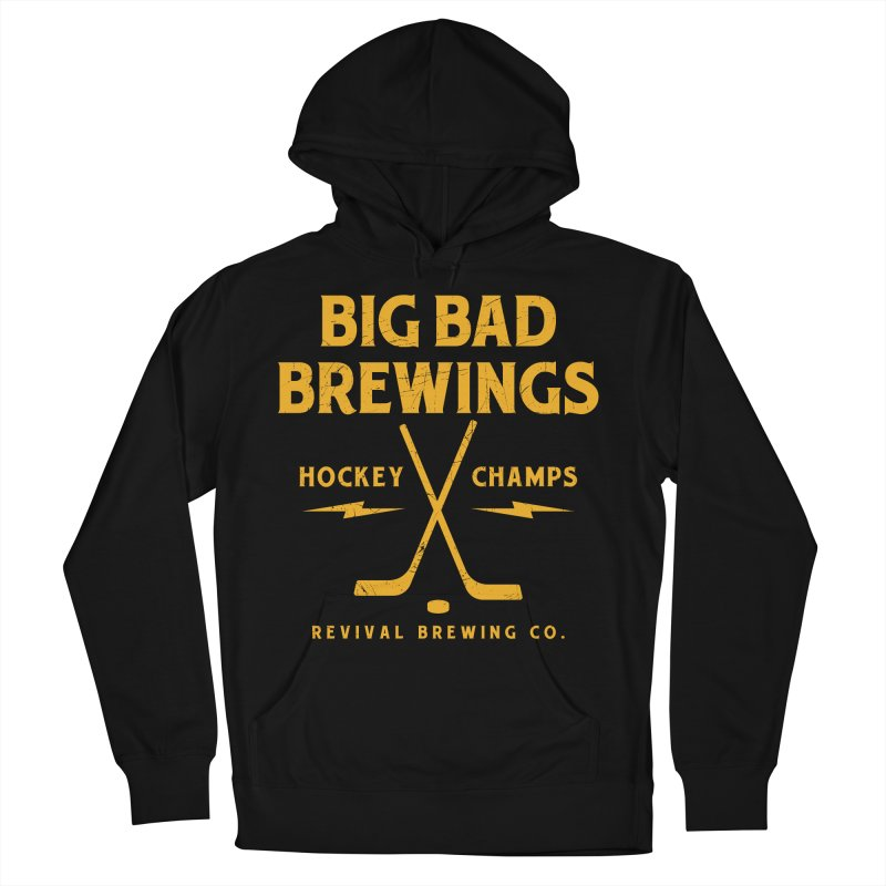 Big Bad Brewings Men's French Terry Pullover Hoody by Revival Brewing
