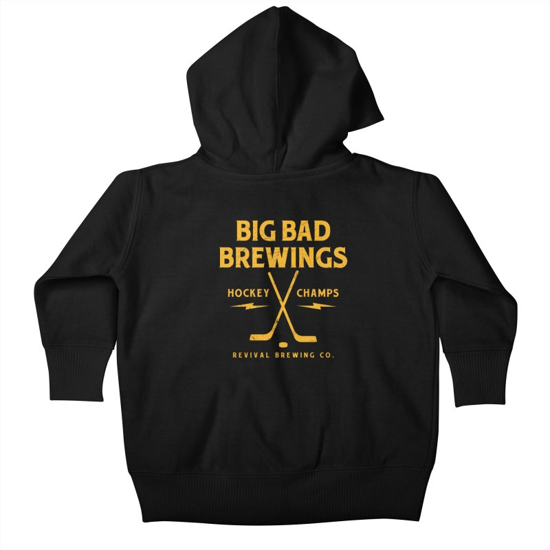 Big Bad Brewings Kids Baby Zip-Up Hoody by Revival Brewing