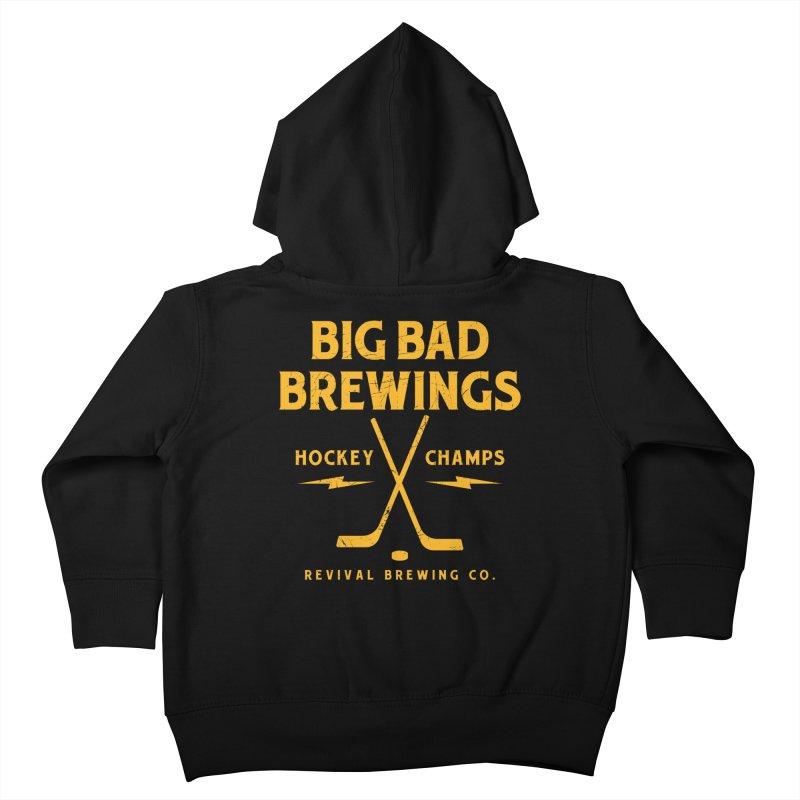 Big Bad Brewings Kids Toddler Zip-Up Hoody by Revival Brewing