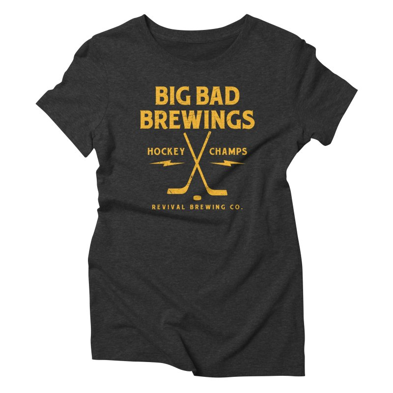 Big Bad Brewings Women's Triblend T-Shirt by Revival Brewing