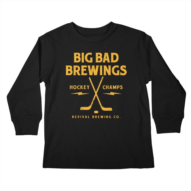 Big Bad Brewings Kids Longsleeve T-Shirt by Revival Brewing