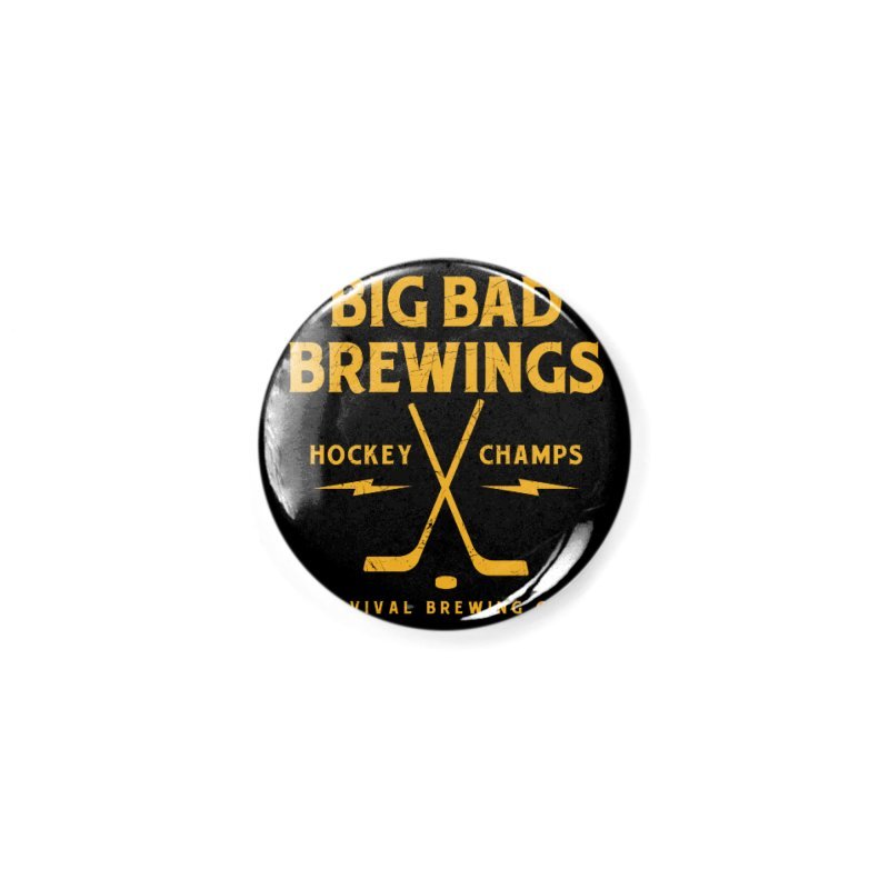 Big Bad Brewings Accessories Button by Revival Brewing