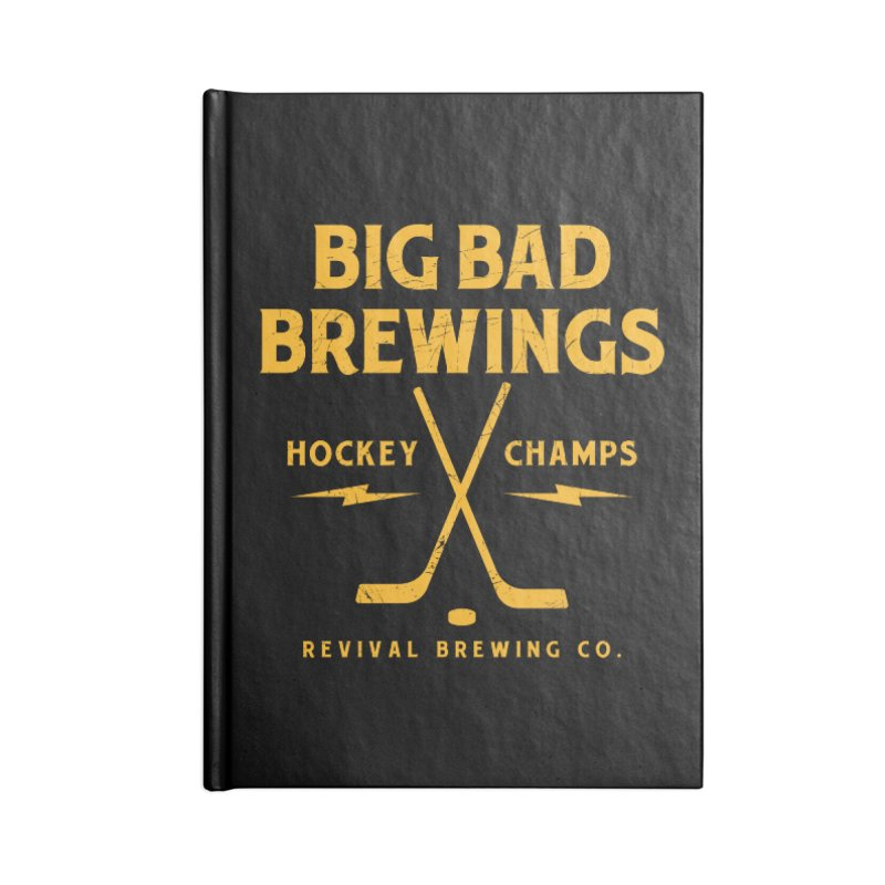 Big Bad Brewings Accessories Lined Journal Notebook by Revival Brewing