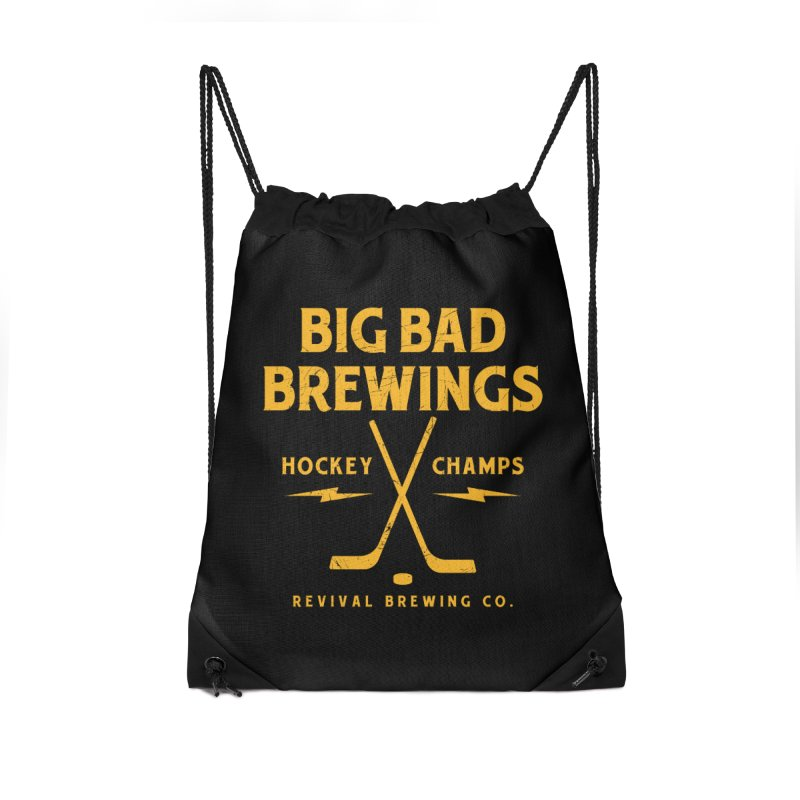 Big Bad Brewings Accessories Drawstring Bag Bag by Revival Brewing