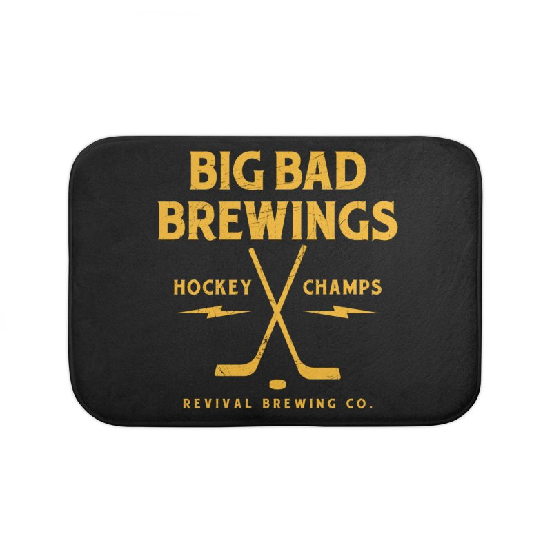 Big Bad Brewings Home Bath Mat by Revival Brewing