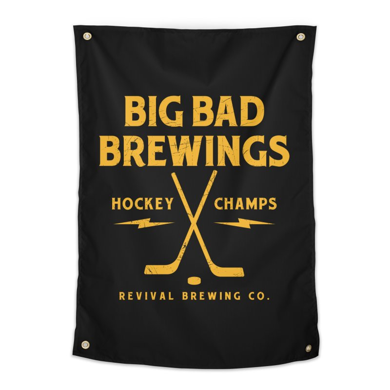 Big Bad Brewings Home Tapestry by Revival Brewing