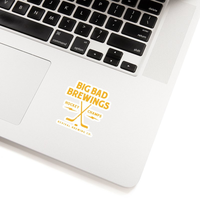 Big Bad Brewings Accessories Sticker by Revival Brewing