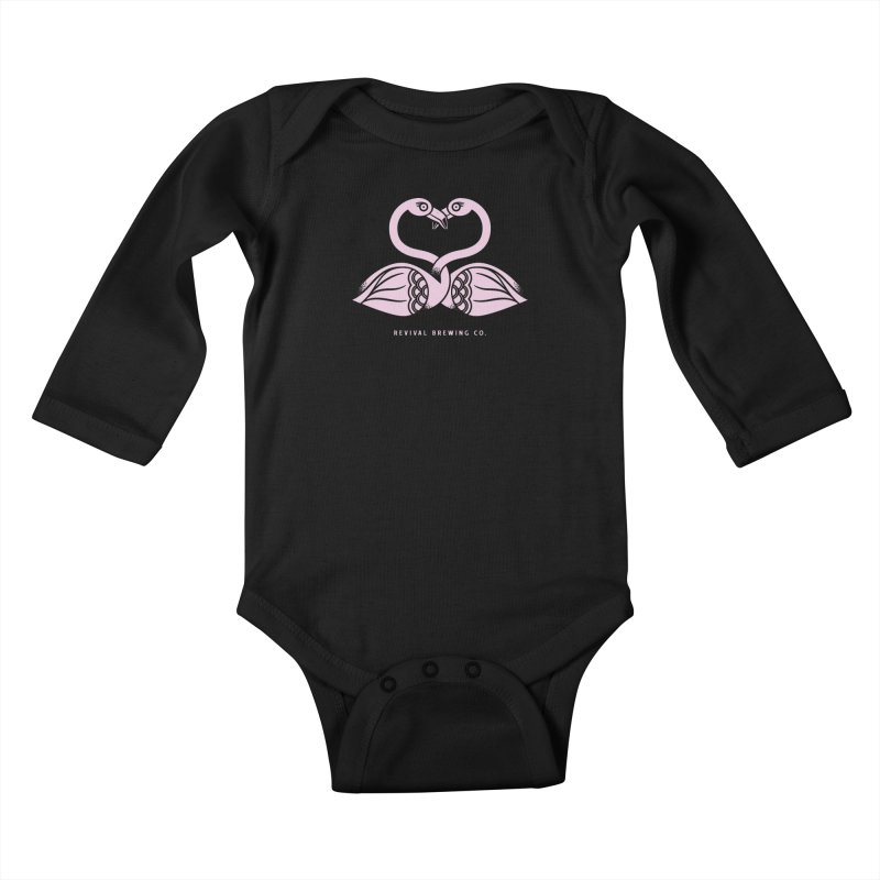 Pinky Swear Kids Baby Longsleeve Bodysuit by Revival Brewing