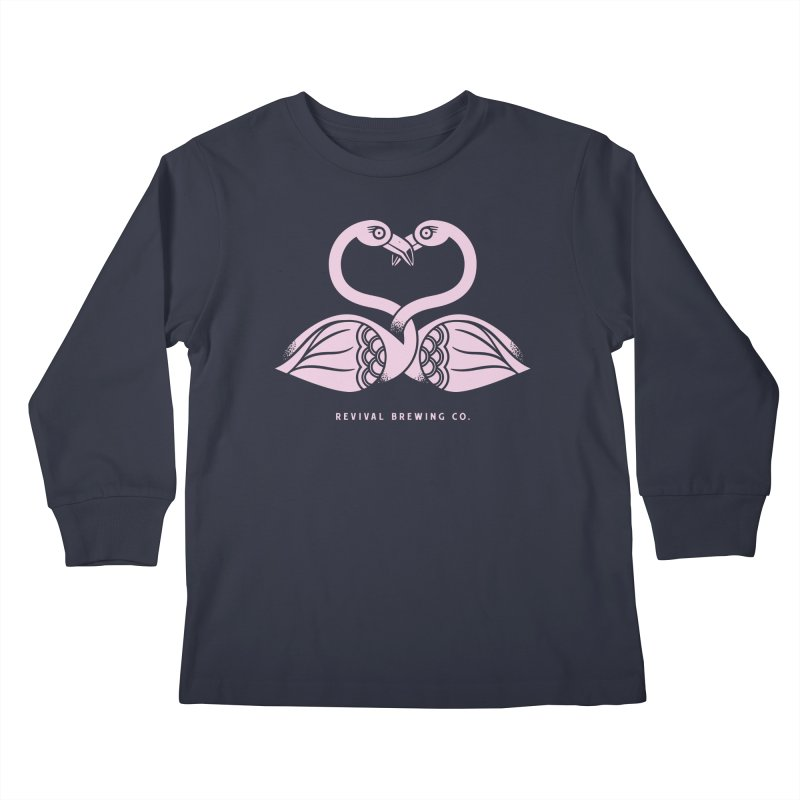 Pinky Swear Kids Longsleeve T-Shirt by Revival Brewing