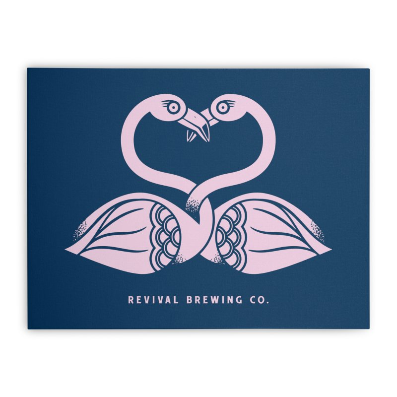 Pinky Swear Home Stretched Canvas by Revival Brewing