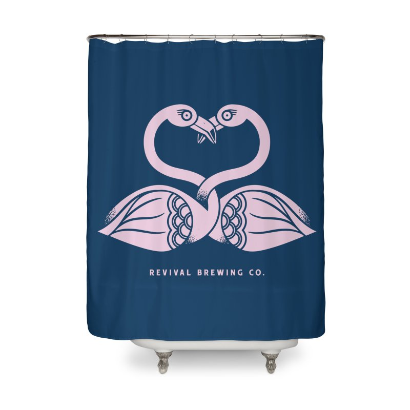 Pinky Swear Home Shower Curtain by Revival Brewing