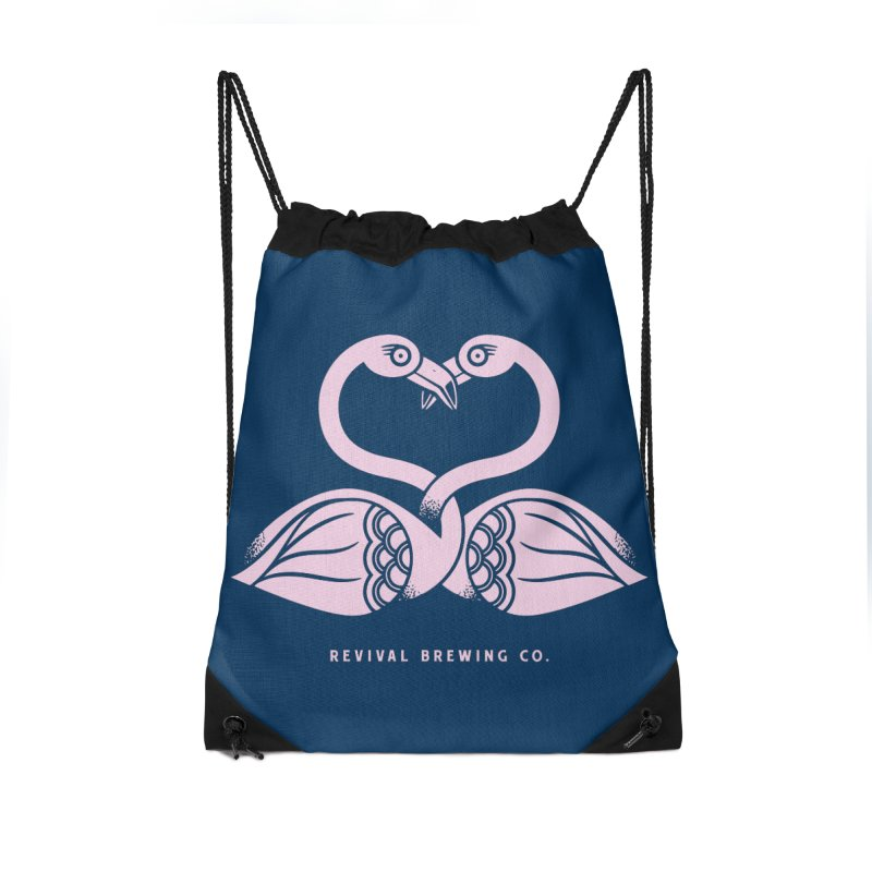 Pinky Swear Accessories Drawstring Bag Bag by Revival Brewing