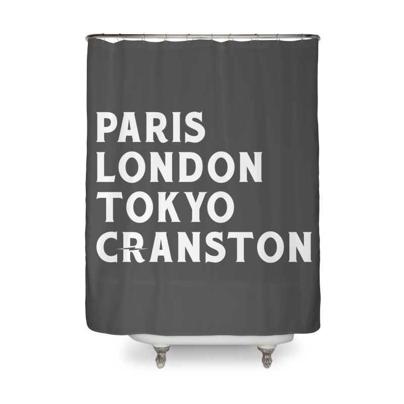 Revival Cranston Home Shower Curtain by Revival Brewing
