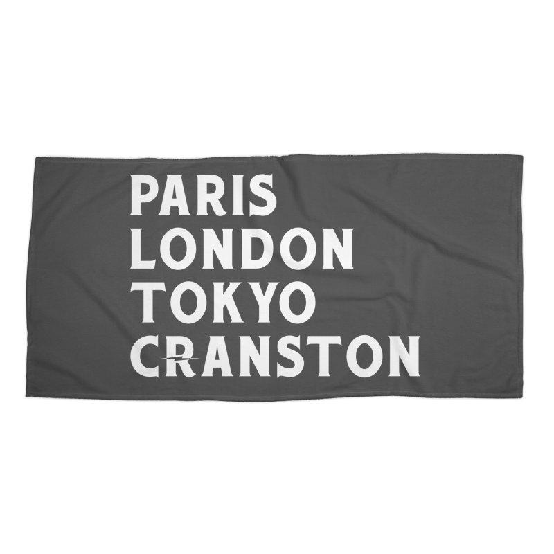 Revival Cranston Accessories Beach Towel by Revival Brewing