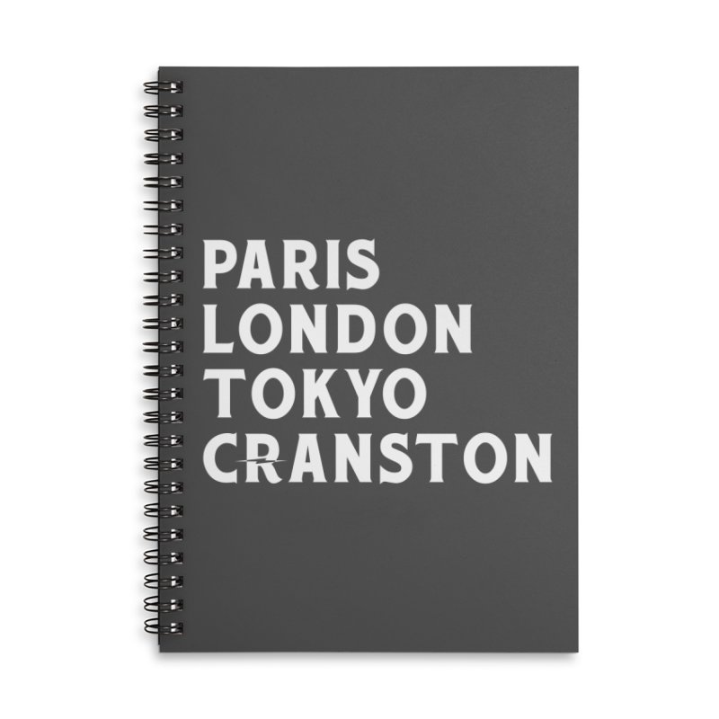 Revival Cranston Accessories Lined Spiral Notebook by Revival Brewing