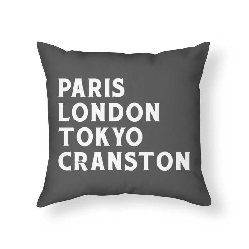 Revival Cranston Home Throw Pillow by Revival Brewing