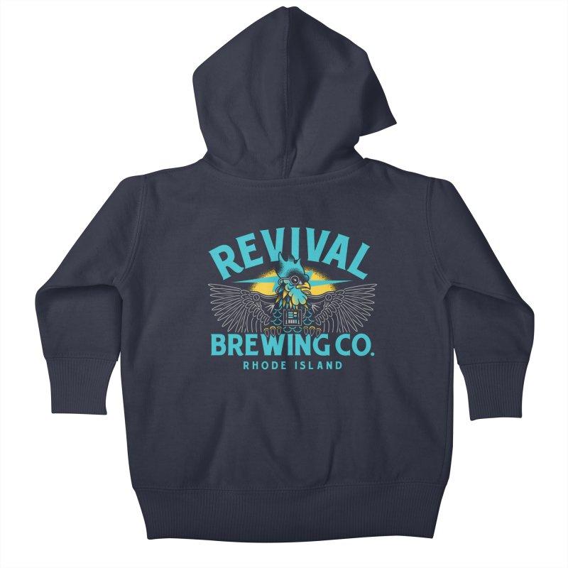 Revival Darth Rhody Kids Baby Zip-Up Hoody by Revival Brewing