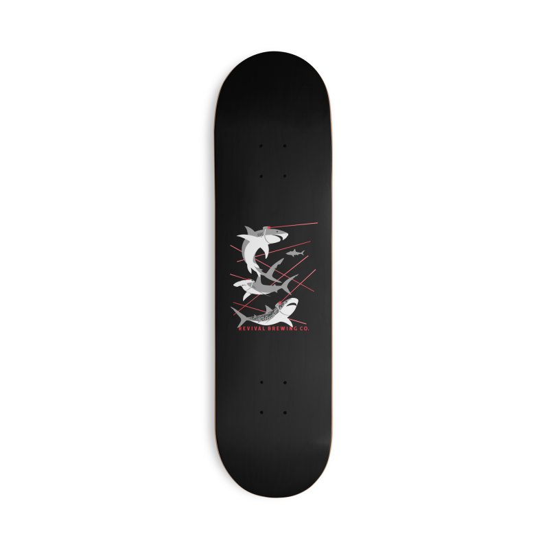 Revival Laser Sharks Accessories Skateboard by Revival Brewing