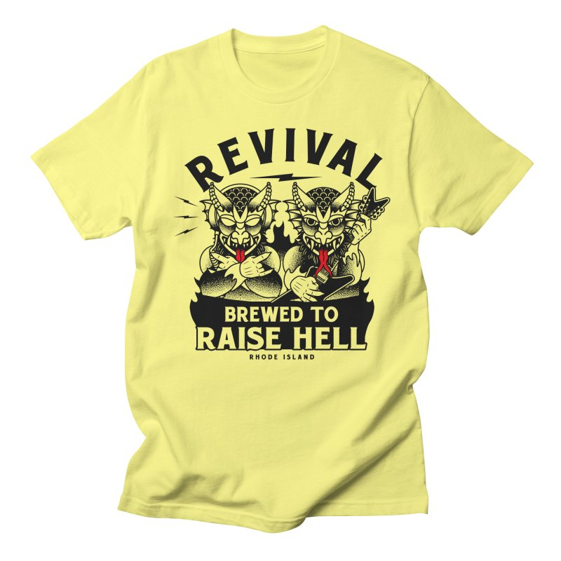 Revival Raise Hell Men's T-Shirt by Revival Brewing