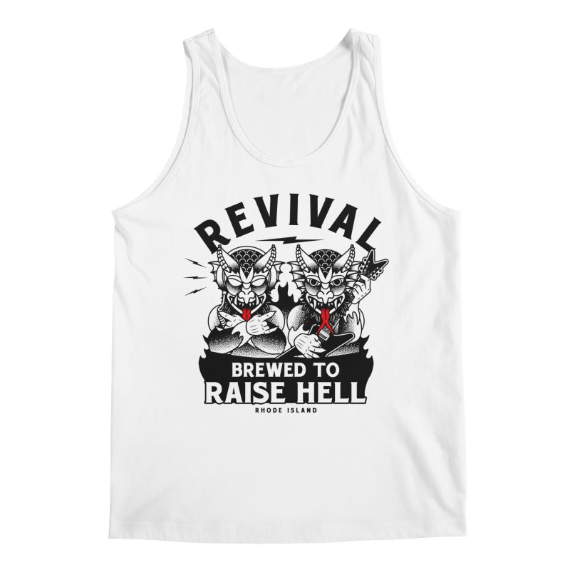 Revival Raise Hell Men's Tank by Revival Brewing