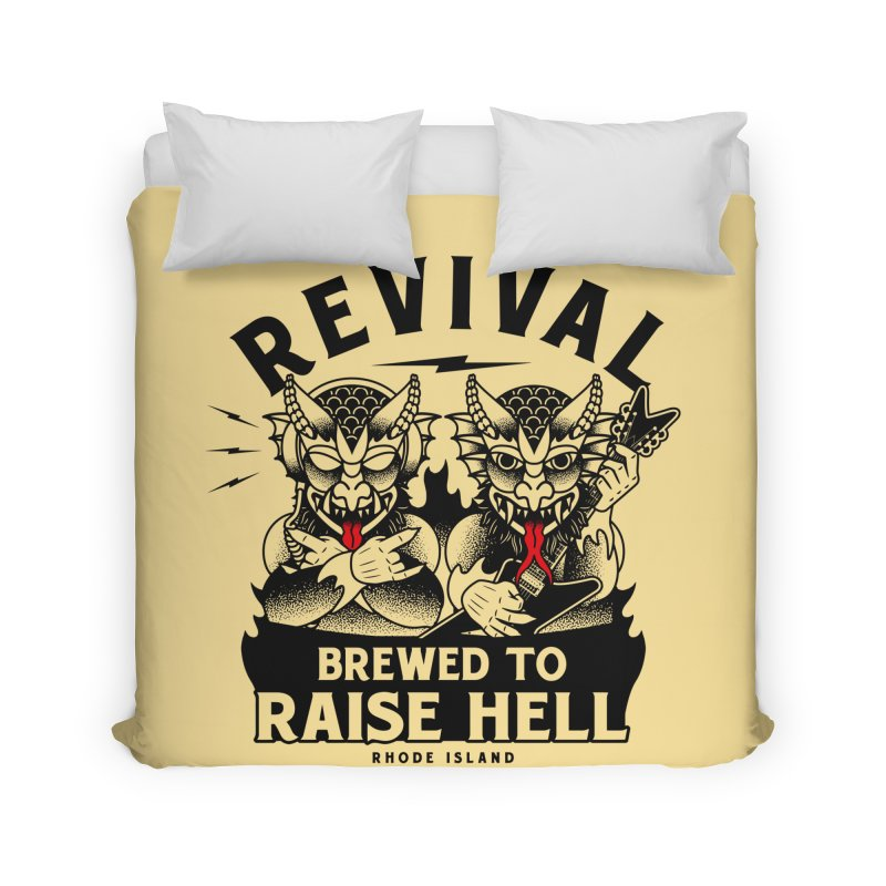Revival Raise Hell Home Duvet by Revival Brewing