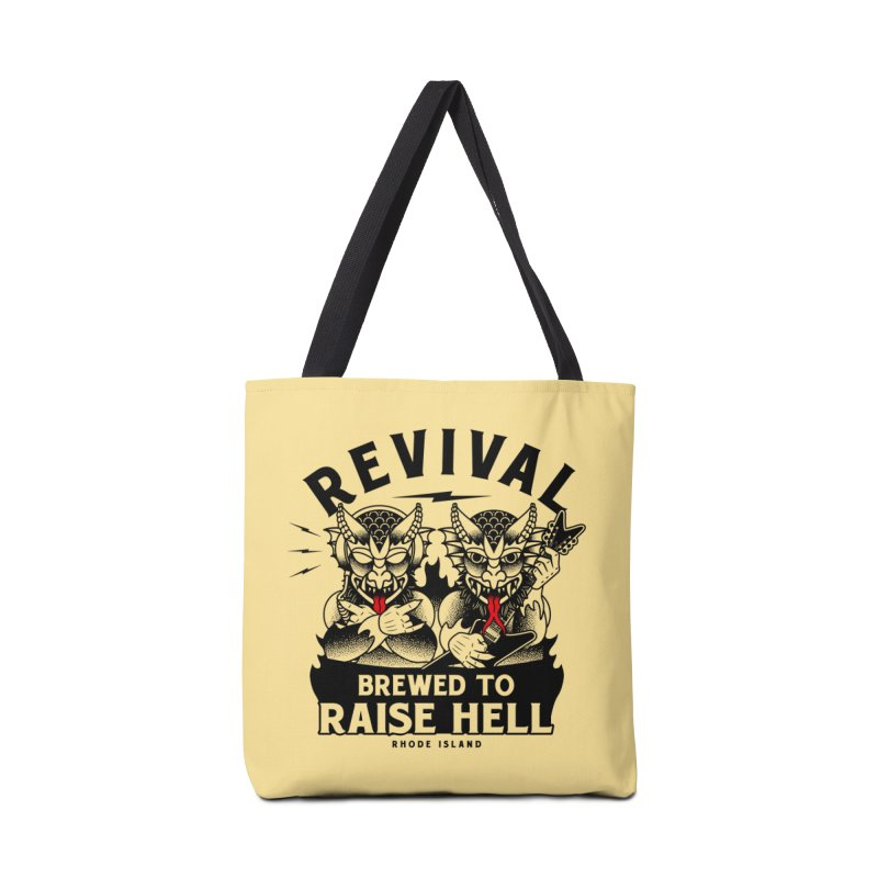 Revival Raise Hell Accessories Tote Bag Bag by Revival Brewing