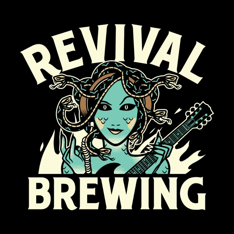 Revival Medusa Accessories Mug by Revival Brewing