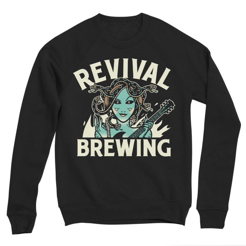 Revival Medusa Men's Sweatshirt by Revival Brewing
