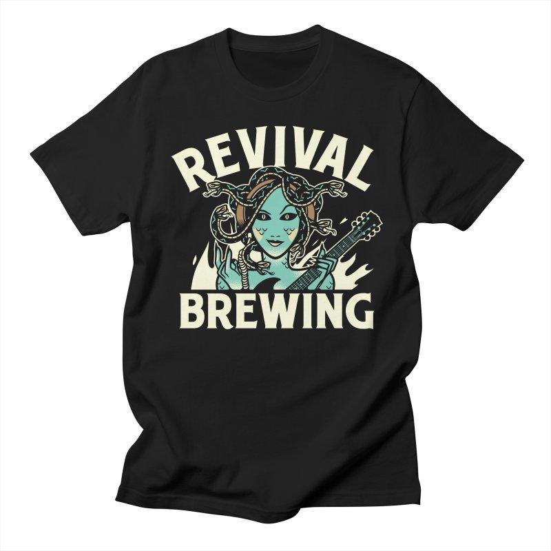 Revival Medusa Men's T-Shirt by Revival Brewing