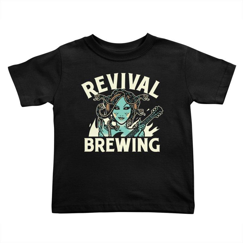 Revival Medusa Kids Toddler T-Shirt by Revival Brewing