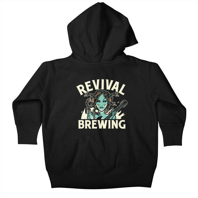 Revival Medusa Kids Baby Zip-Up Hoody by Revival Brewing
