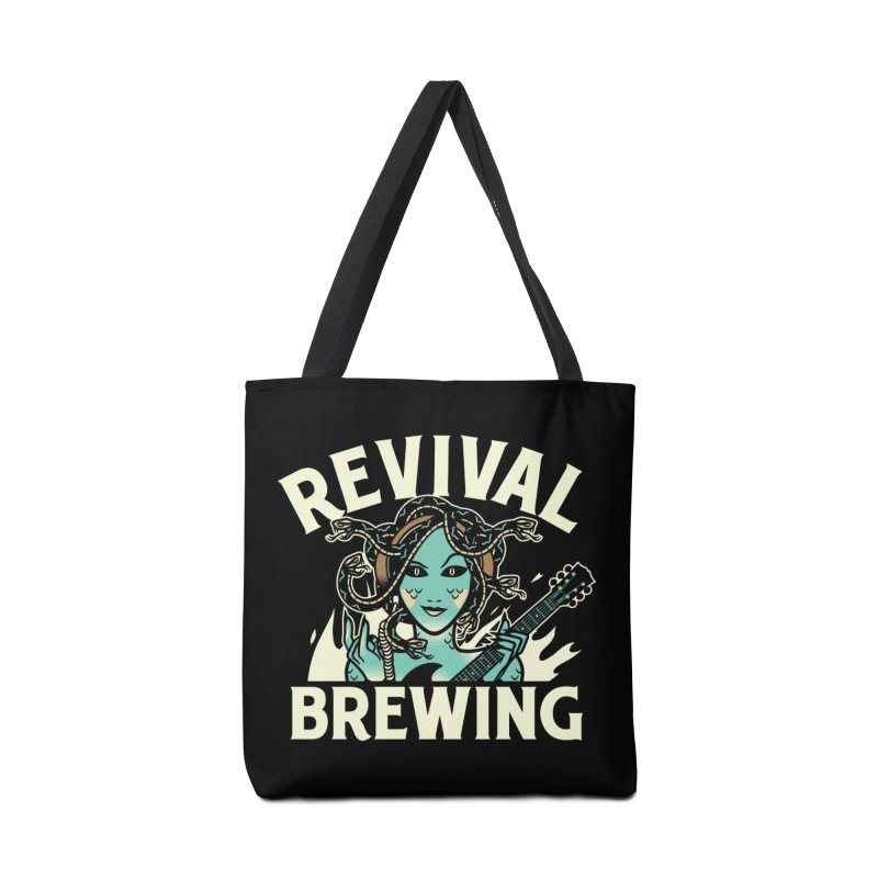 Revival Medusa Accessories Tote Bag Bag by Revival Brewing