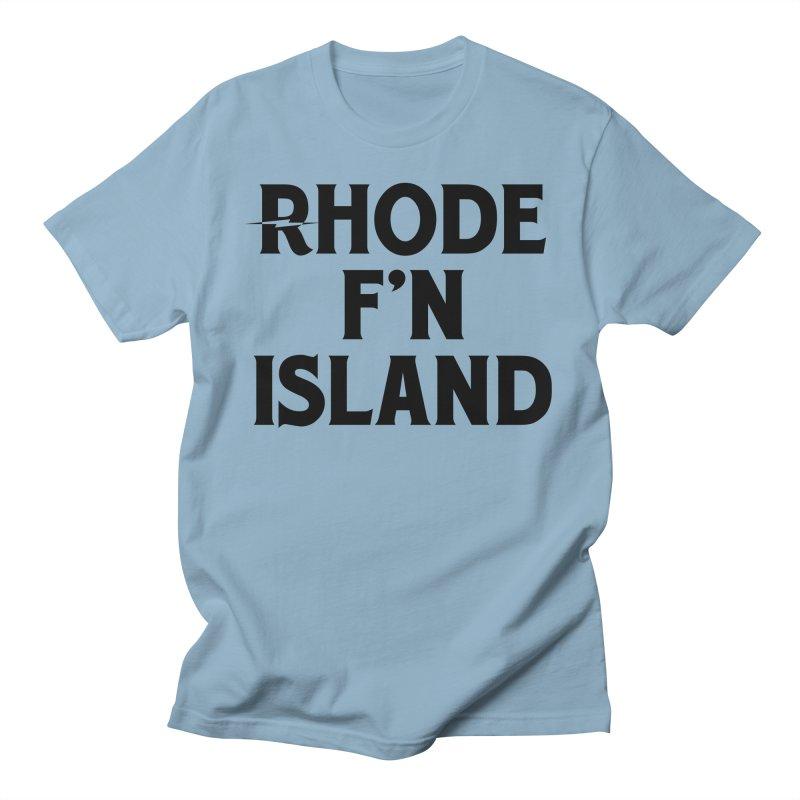 Revival Rhode F'n Island Men's T-Shirt by Revival Brewing