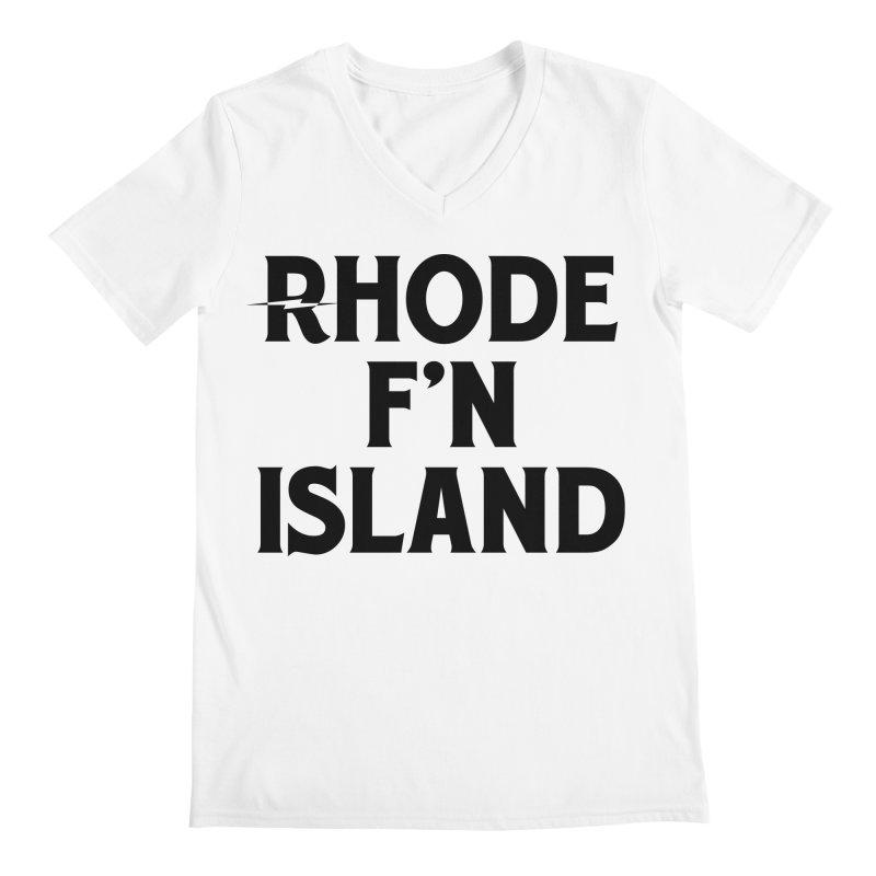 Revival Rhode F'n Island Men's V-Neck by Revival Brewing