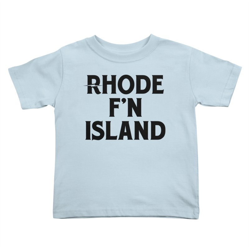 Revival Rhode F'n Island Kids Toddler T-Shirt by Revival Brewing