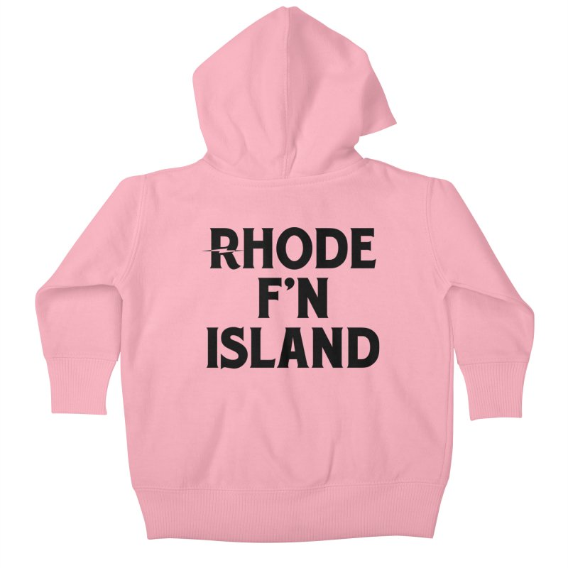 Revival Rhode F'n Island Kids Baby Zip-Up Hoody by Revival Brewing