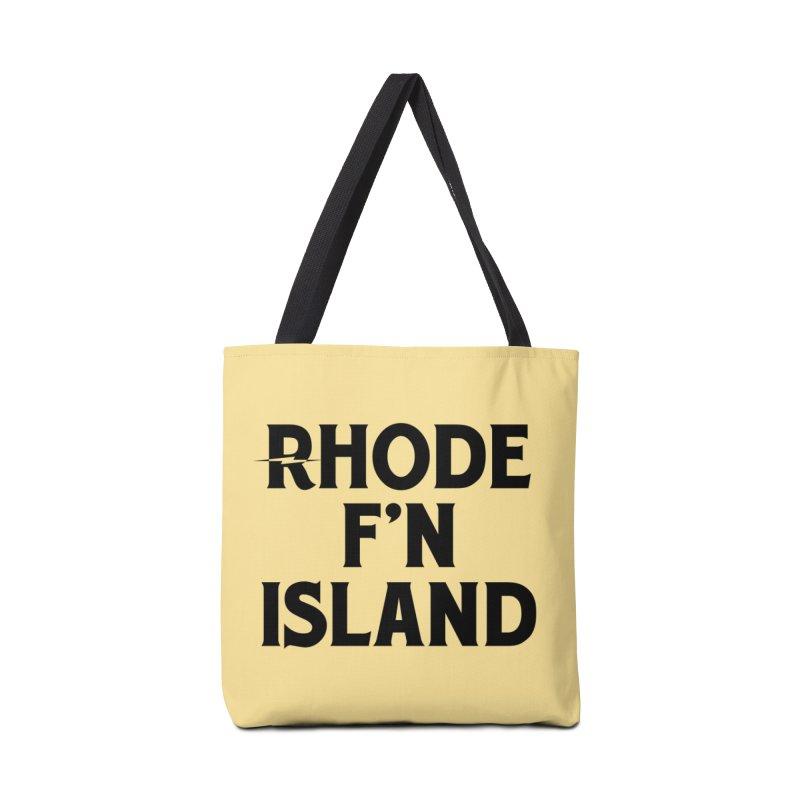 Revival Rhode F'n Island Accessories Tote Bag Bag by Revival Brewing