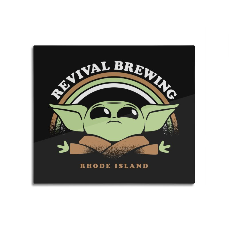 Revival Child Home Mounted Acrylic Print by Revival Brewing